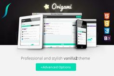 Nice Origami - Responsive Vanilla2 Theme CreativeWork247 - Fonts, Graphics,...