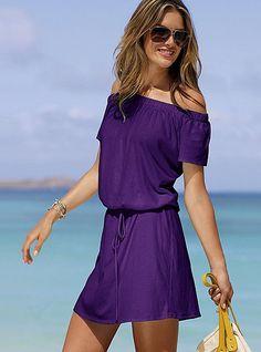 Off-the-shoulder Tee Dress - Victoria's Secret