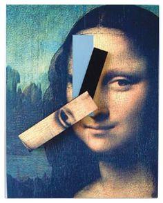 Kikkerland Mona Lisa Clock