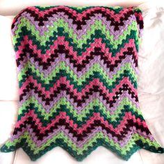 crochet granny ripple pattern for baby | ... Crochet Pattern: Granny Ripple Blanket - Crochet Patterns, Tutorials
