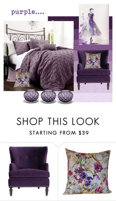 """""""purple..."""" by home-23b on Polyvore featuring interior, interiors, interior design, Casa, home decor, interior decorating e Lalique"""