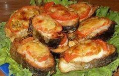 Как приготовить рыба с помидорами под сыром  - рецепт, ингредиенты и фотографии