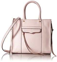 005b49a4b106 Rebecca Minkoff Side-Zip Mab Tote Mini Cross-Body Bag Square-shape bag  featuring expanding zipper sides