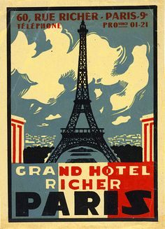 * grand hôtel Richer Paris