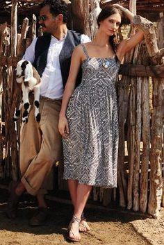 Corey Lynn Calter Sketchbook Midi Dress #anthrofave