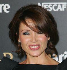 Dannii Minogue Short Wavy Cut - Dannii Minogue Hair - StyleBistro