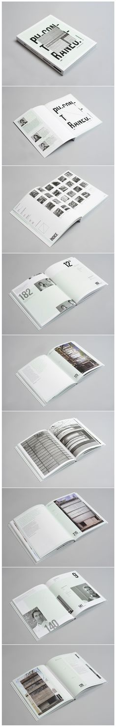 Cover and layout design / PH BOOK Contemporary Architecture