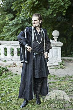Eastern Europe Medieval Tunic Overcoat Costume