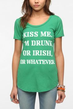 Truly Madly Deeply Kiss Me Tee #urbanoutfitters