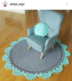 46 Ideas For Plants Diy Pots Creative Crochet Carpet, Crochet Home, Miniature Furniture, Dollhouse Furniture, Diy Carpet, Rugs On Carpet, Diy Tapis, Painting Carpet, Crochet Rug Patterns