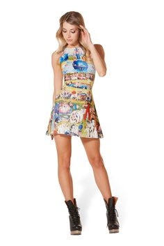 Earthly Delights Play Dress (WW $85AUD / US $80USD) by Black Milk Clothing