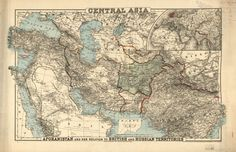 Central Asia: Afghanistan and Her Relation to British and Russian Territories (1885)