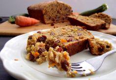 Carrot & Zucchini Quinoa Bread