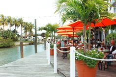 Great waterfront view at Matanzas on the Bay in Fort Myers Beach: Fresh Seafood With a View