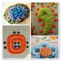 I love thick & chunky crewel embroidery. It's just so delicious looking grin Definitely something that I would love to be able to devote more time to.