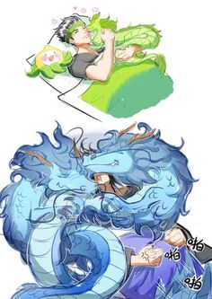 Genji hanzo dragons