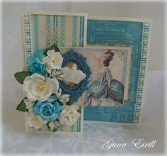 Gunn-Eirill`s Paper Magic: Card for a Princess/ DT Wild Orchid Crafts