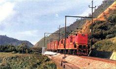 Serra Cremalheira paranapiacaba, Locomotivas Hitachis, 1979!!!