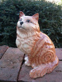 Large Beswick Cat Hand Painted Porcelain England | eBay