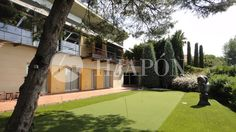 Modern design house in Supermaresme with inside pool and golf.
