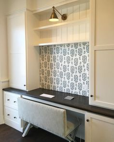 """368 Likes, 16 Comments - Urban Grace Interiors, Inc. (@urbangraceinteriors) on Instagram: """"This client's Mud Room desk is ready for action. ✔️✔️✔️ #aplaceforeverything #mudroom…"""""""