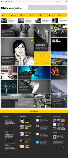 News & Magazines Website