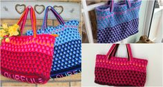 Colourful City Bag – free pattern