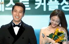 Birth of a Beauty's Joo Sang Wook and Han Ye Seul  have fun on stage