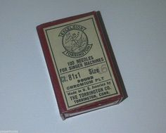 Vintage Excelsior TORRINGTON 81 x 1 Sewing Needles for Singer Size 16 Full Box | eBay