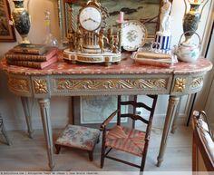 Console d'époque Louis XVI