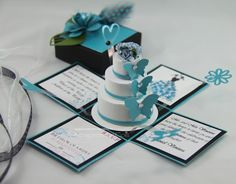 Cloth, Paper Crafts and More...: Quinceanera Invitations By Color & Theme