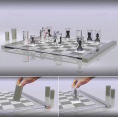 Os tabuleiros mais criativos de xadrez.