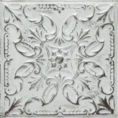 tin ceiling tile--use behind range as backsplash? Tin Tile Backsplash, Tin Tiles, Kitchen Tiles, Kitchen Colors, New Kitchen, Backsplash Ideas, Tile Ideas, Kitchen Wood, Black Backsplash