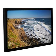 Sonoma Coast by Dan Wilson Gallery-Wrapped Floater-Framed Canvas