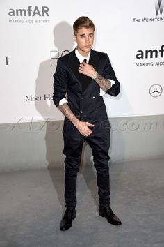 Justin Bieber amfAR Party