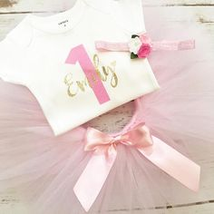 First Birthday Girl Outfit ----- 1st Birthday Outfit ------ First Birthday ----- _____________________________________________________________ Our first birthday outfit is trending all over Etsy & Pinterest- everyone just adores it & we know that you will too! We are your #1