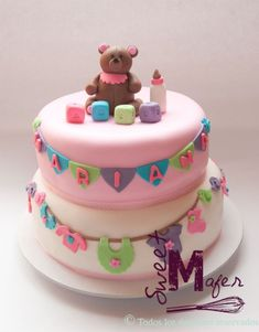 Resultado de imagen para baby shower ositos torta