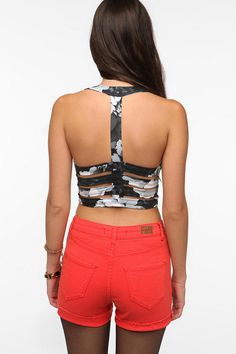 Motel Salvita Strappy-Back Bra Top Sold Out thestylecure.com