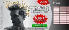 Du 17 au 23 Septembre 2012, profitez du nouvel album de Mika en version Deluxe au prix incroyable de 5.99 € au lieu de 12.99 € !!!