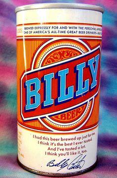 billy beer can by hamlux, via Flickr