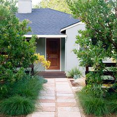 After - Front Lawn Ideas - Sunset