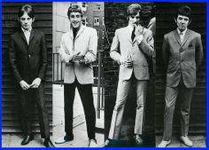 We are the Mods. Circa 1965. LtoR: Steve Marriott, Roger Daltrey, Rod Stewart & Ronnie Lane.