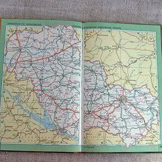 Atlas of highways of the USSR maps Cyrillic russian by MyWealth