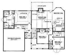 traditional house plan 89879 traditional traditional house and house plans