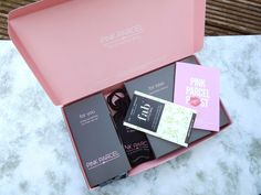 """My first Pink Parcel box - """"It's a monthly thing"""" - May 2016 - Gem's Up North"""