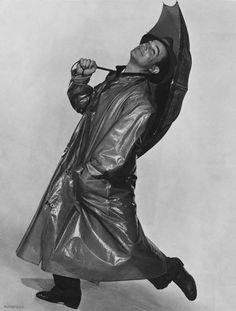 Gene Kelly as Don Lockwood in a promotional shot for Singin' in the Rain 1952
