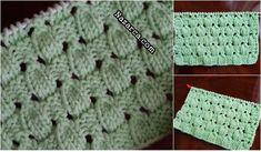 YENİ VERSİYON BADEM ÖRGÜSÜ ŞİŞ İŞİ Blanket, Crochet, Art, Knitting And Crocheting, Needle Points, Pearls, Crocheting, Amigurumi, Needlepoint