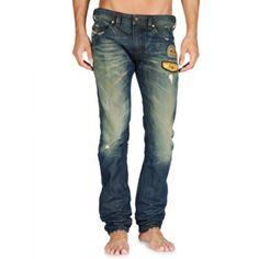 Diesel Thavar 0882R Slim-Skinny Jeans on Sale at Designer Man