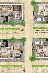 Vhridhaa Apartment Plan - Block P - Sree Daksha Property Developers Apartment Plans, Apartment Design, Property Development, Built Environment, Luxury Apartments, Luxury Villa, Floor Plans, How To Plan, Architecture