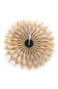 World Friendly World 'Sunflower' Wall Clock available at #Nordstrom